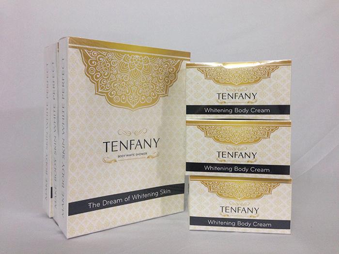 Bộ tắm trắng và kem dưỡng trắng toàn thân Tenfany