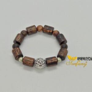 Chuỗi đeo tay gỗ thả hương Rosewood