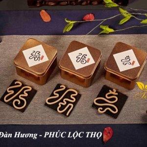 Đàn hương hình chữ PHÚC LỘC THỌ