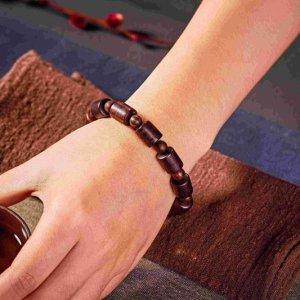 Bộ vòng chuỗi đeo tay gỗ thả hương