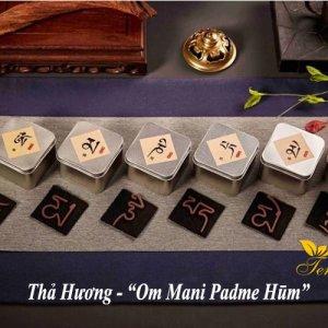 Thả hương hình chữ Om Mani Padme Hum