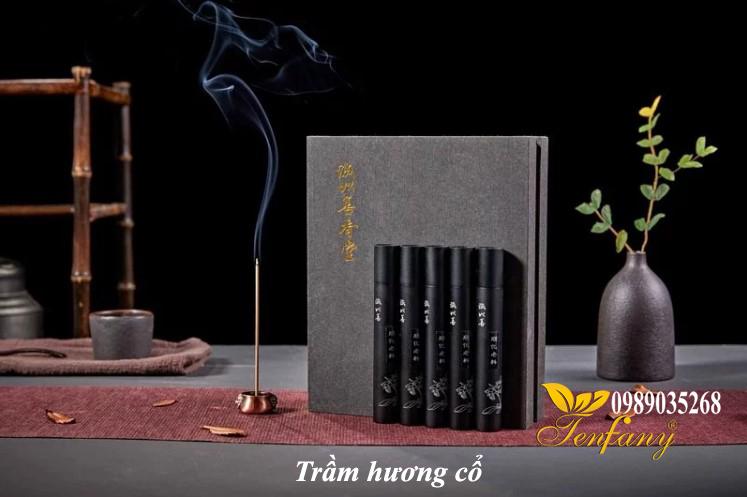 trầm hương cổ Việt Nam