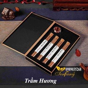Trầm hương Nha Trang 4 ống