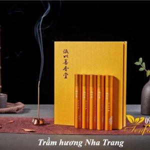 Trầm hương Nha Trang không tăm